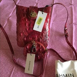 NWT SET Sold Out Color PETUNIA Marley Crossbody+